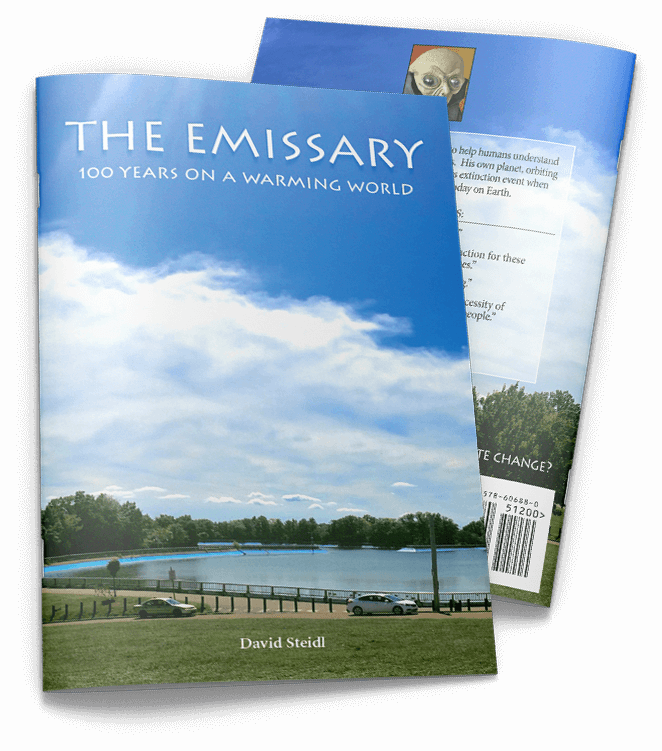 The Emissary Front & Back Cover